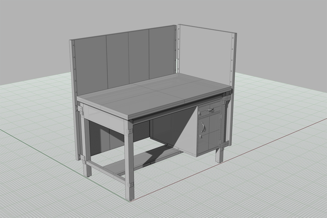 Rhino Desk Model_web