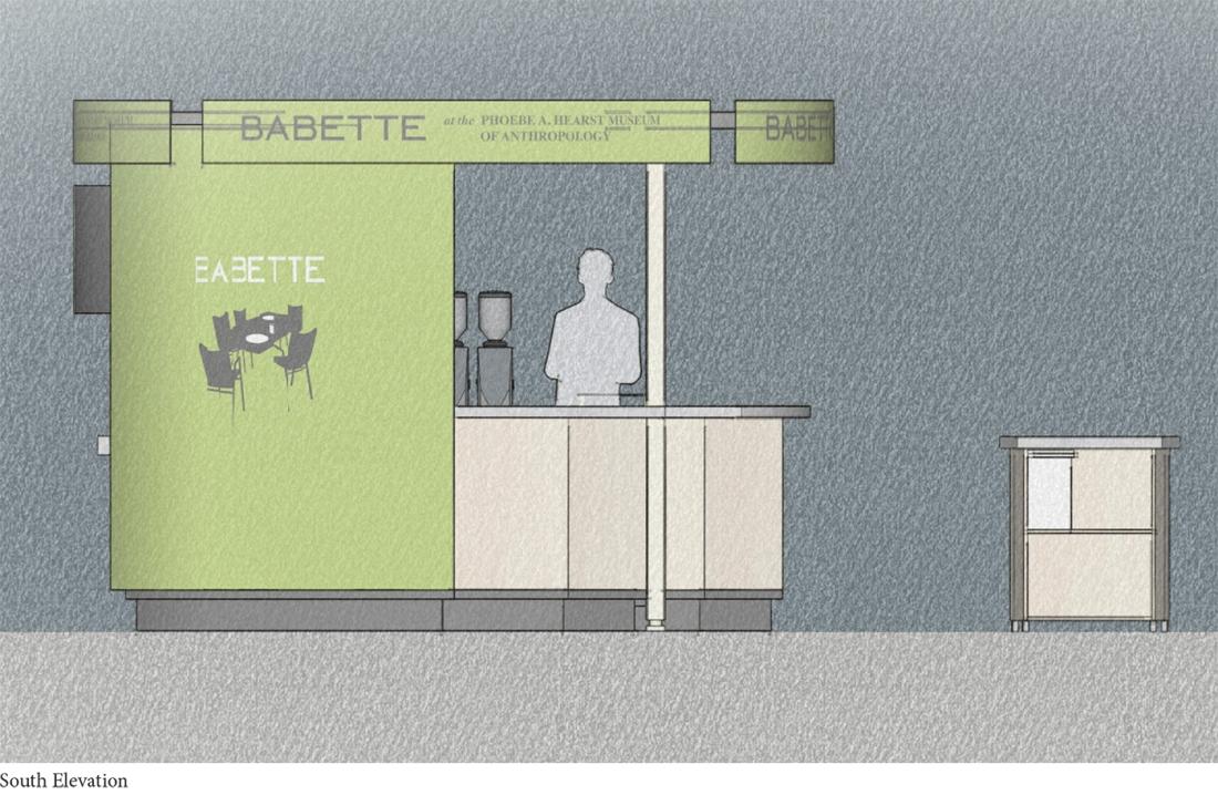 Babette South Elevation