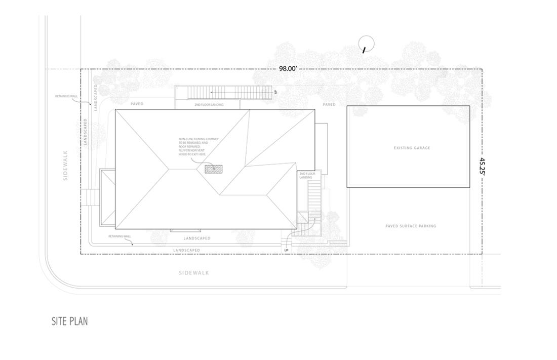 6519 Wheeler Unit 1 Permit Drawings-2