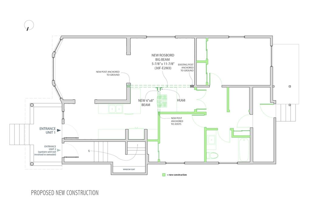 6519 Wheeler Unit 1 Permit Drawings-6